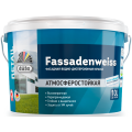 Водно-дисперсионная краска düfa Retail FASSADENWEISS