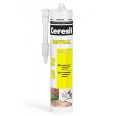 Ceresit CS 16. Нейтральный силиконовый герметик