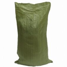 Мешок для мусора полипропиленовый тканный (зеленый)