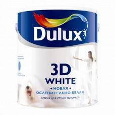 Dulux Новая ослепительно белая 3D White, матовая