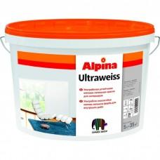Ультрабелая акриловая краска Alpina UltraWeiss