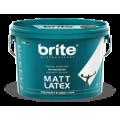 Brite Mattlatex 9л краска латексная
