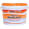 Decotech Краска Mattlatex  для сухих и влажных помещений