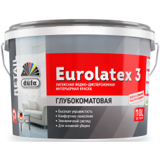 Водно-дисперсионная краска düfa Retail EUROLATEX 3