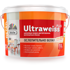 Водно-дисперсионная краска düfa Retail ULTRAWEISS PLUS