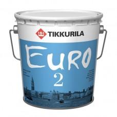 Матовая краска Tikkurila Euro 2 (Евро 2)