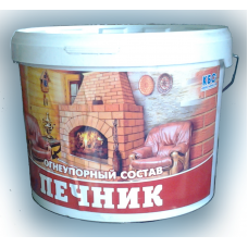 """БС-105 Огнеупорный состав """"ПЕЧНИК""""  18кг"""