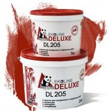 Краска DELUXE супербелая моющаяся DL 205