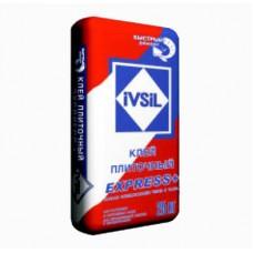 """""""IVSIL EXPRESS+"""" клей плиточный быстротвердеющий 25кг"""