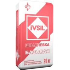 """""""IVSIL Базовая"""" шпаклевка цементная 20кг"""