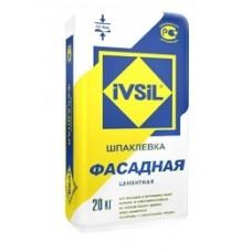 """""""IVSIL Фасадная"""" шпаклевка цементная 20кг"""