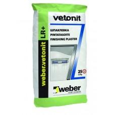 Vetonit LR+ Финишная полимерная шпатлевка